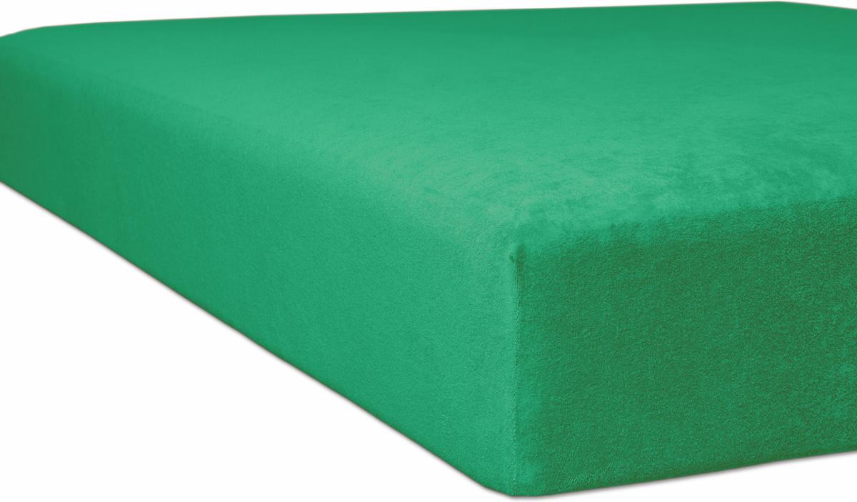 kneer flausch frottee qualit t 10 farbe 60 smaragd wohnaccessoires massageliegenbezug bei. Black Bedroom Furniture Sets. Home Design Ideas