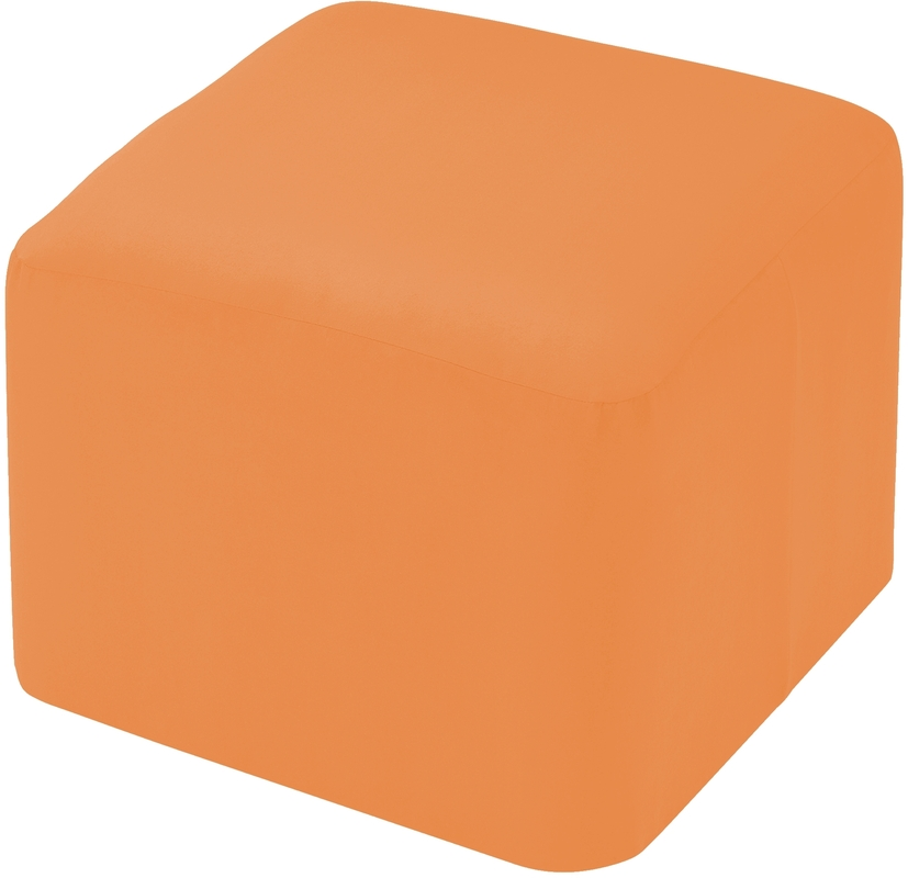 linke licardo m belhocker eckig alka light orange 50 50 40 cm wohnaccessoires hocker bei tepgo. Black Bedroom Furniture Sets. Home Design Ideas