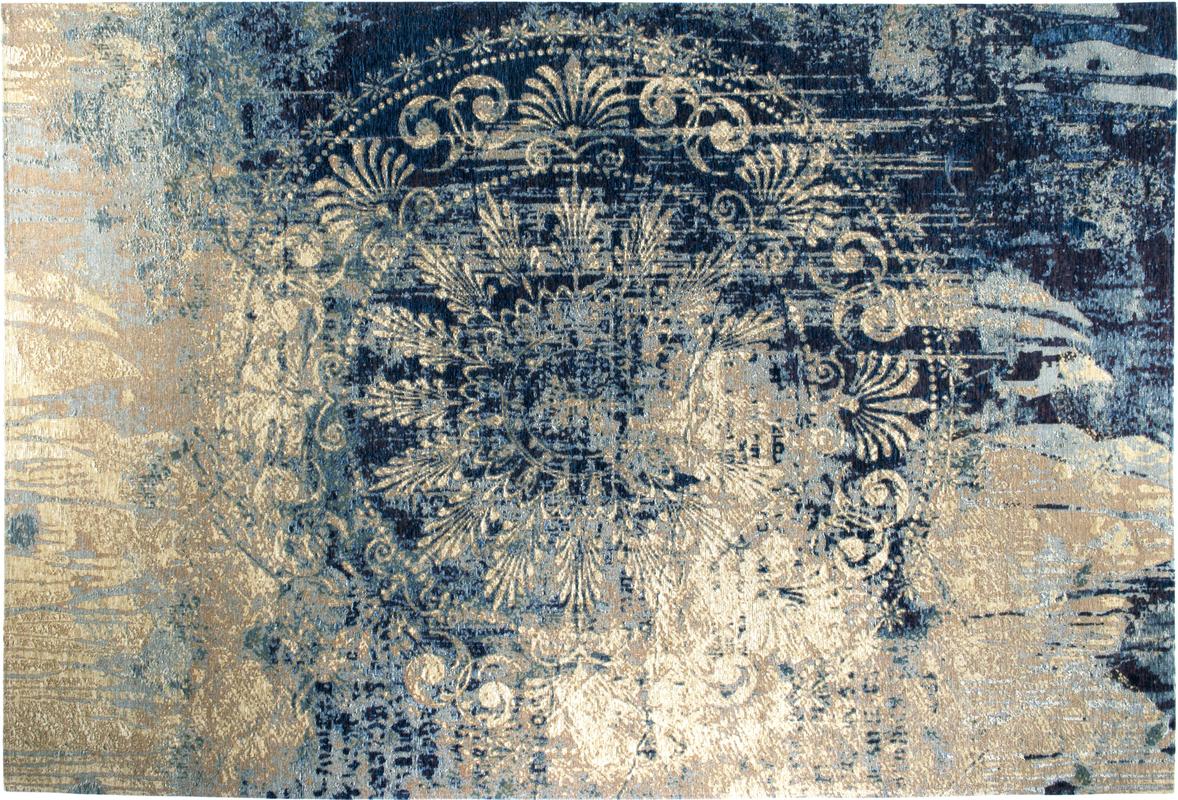 Luxor Living Vintage Teppich Barock Blau Beige Designerteppich