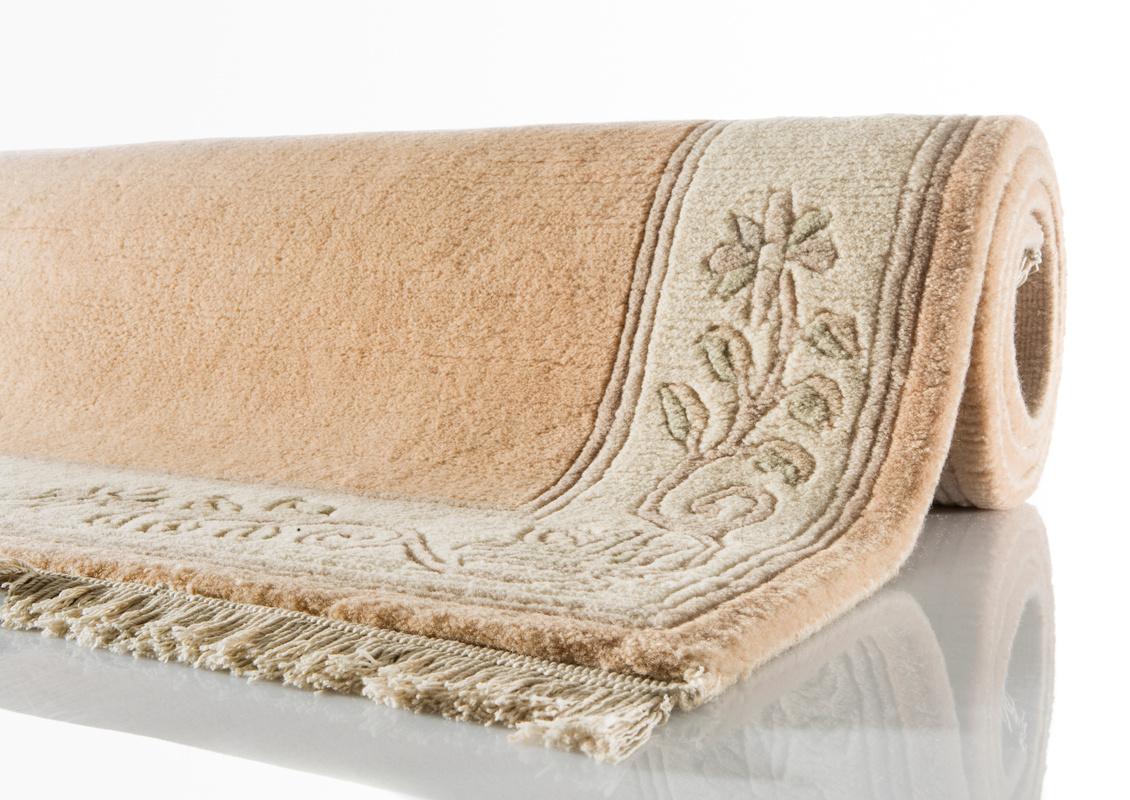 kelii nepal teppich romantico 295 apricot teppich. Black Bedroom Furniture Sets. Home Design Ideas