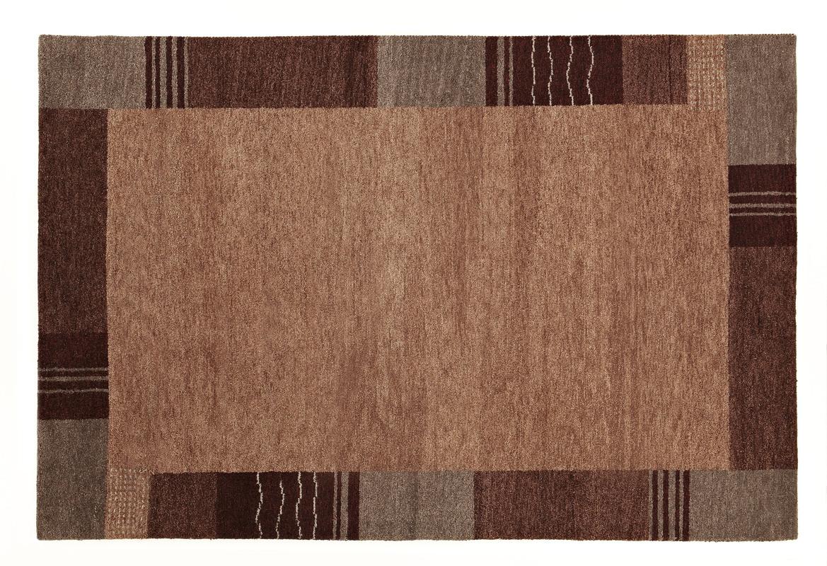 luxor living gabbeh teppich rio grande grau braun teppich. Black Bedroom Furniture Sets. Home Design Ideas