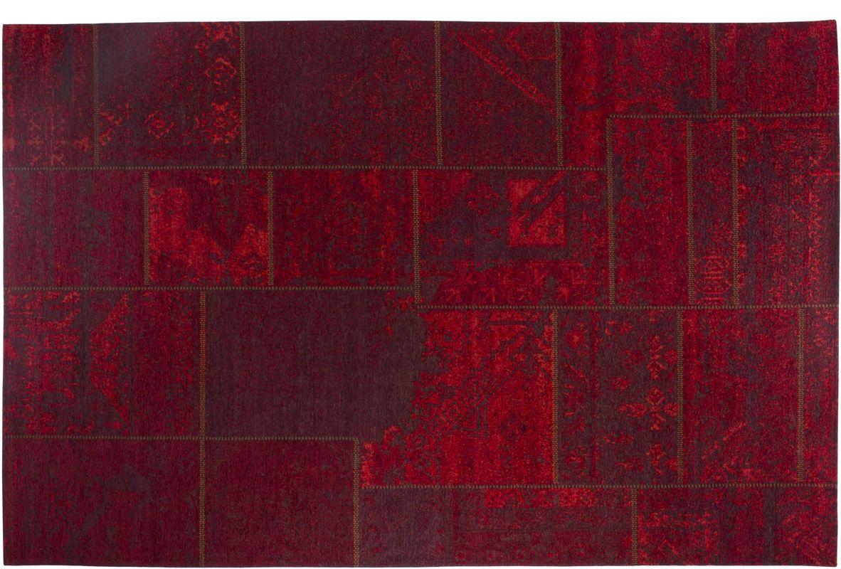 Luxor Living Vintage Teppich Barock Rot Designerteppich Bei Tepgo