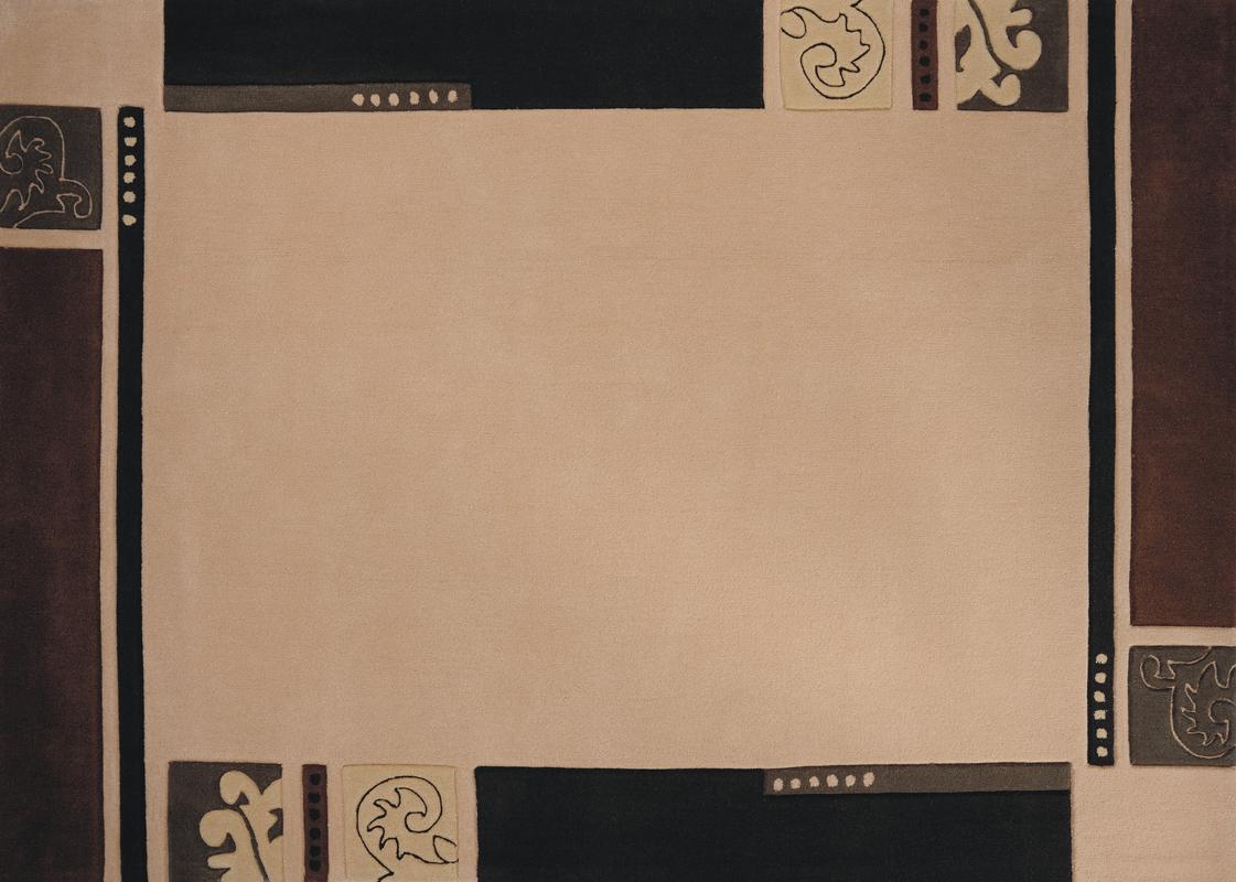 Luxor Living Teppich Chewas 2626 braun Moderner Teppich