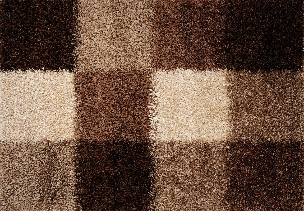 Teppichboden beige braun  Luxor Living Teppich Faenza Karo beige-braun Teppich Hochflor ...