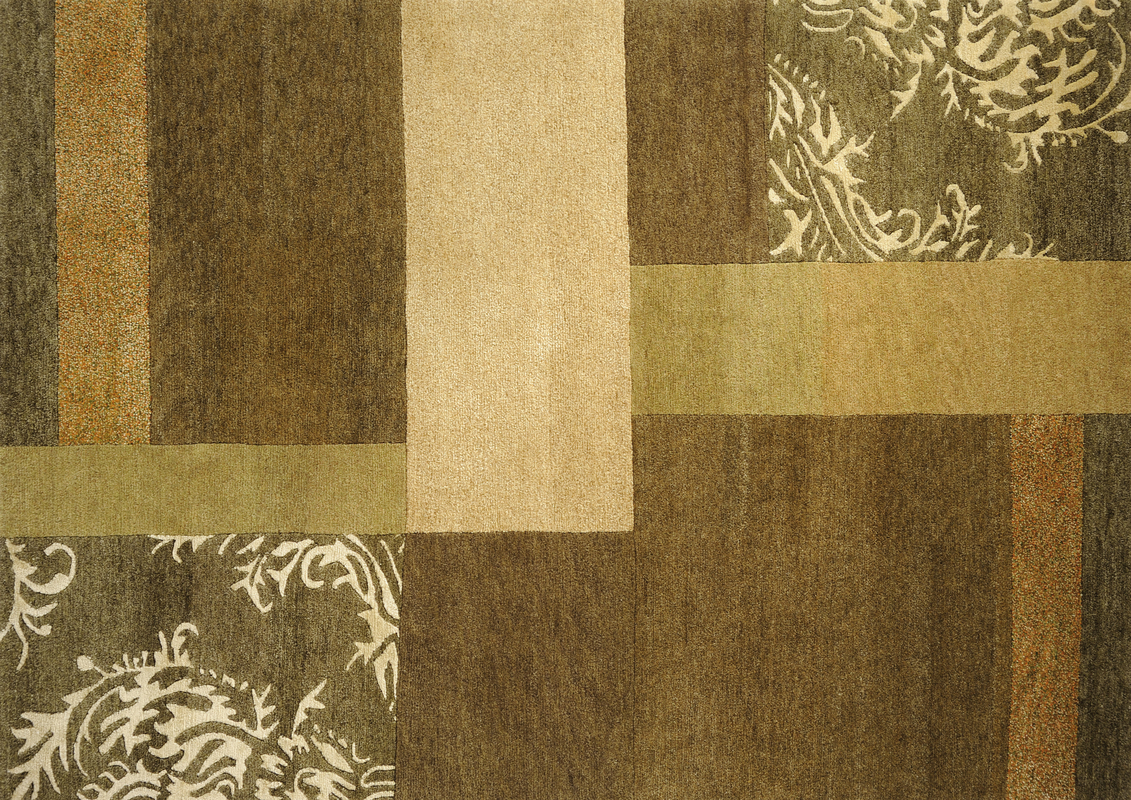Luxor Living Teppich Tingri grün Teppich Nepalteppich bei