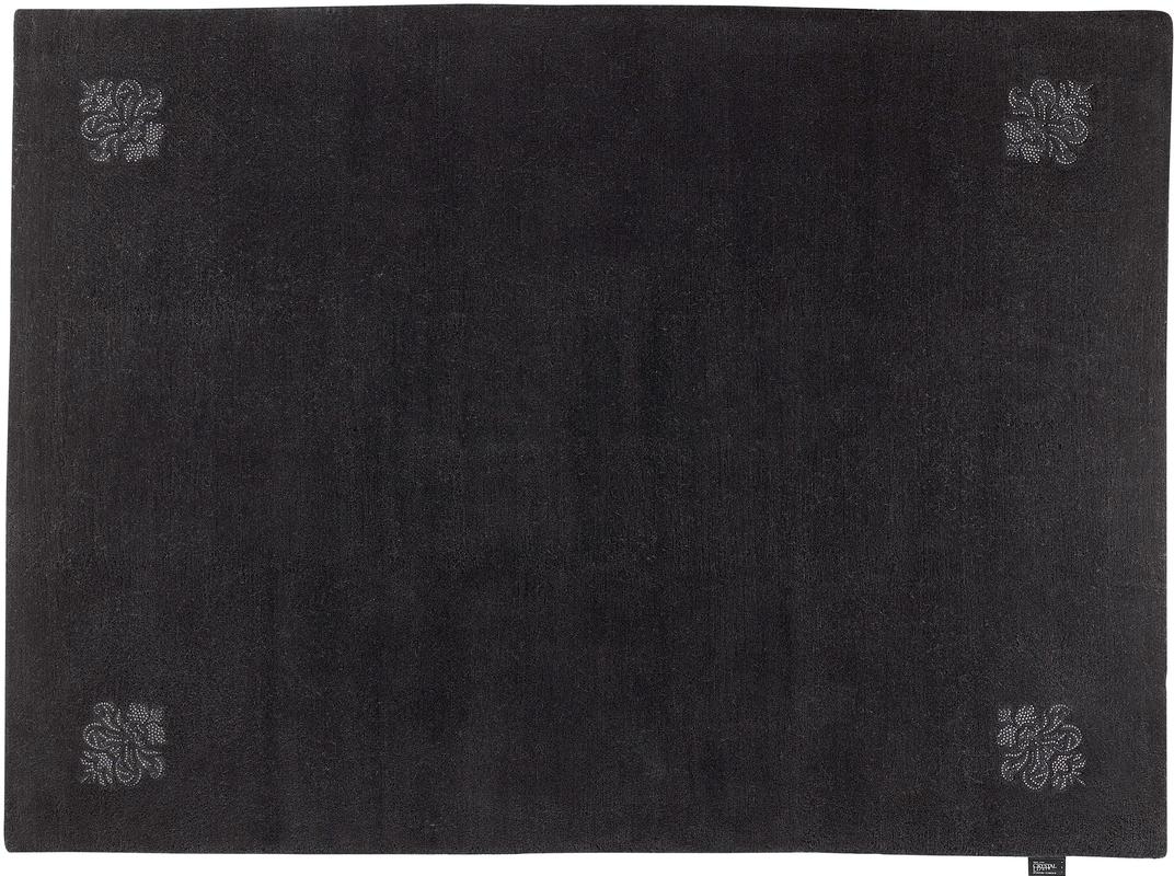 Luxor Style Teppich Queen anthrazit Teppich Nepalteppich