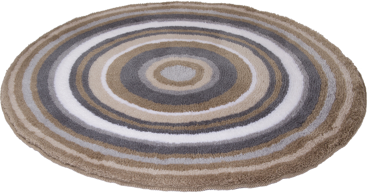 meusch badteppich mandala taupe badteppiche bei tepgo. Black Bedroom Furniture Sets. Home Design Ideas