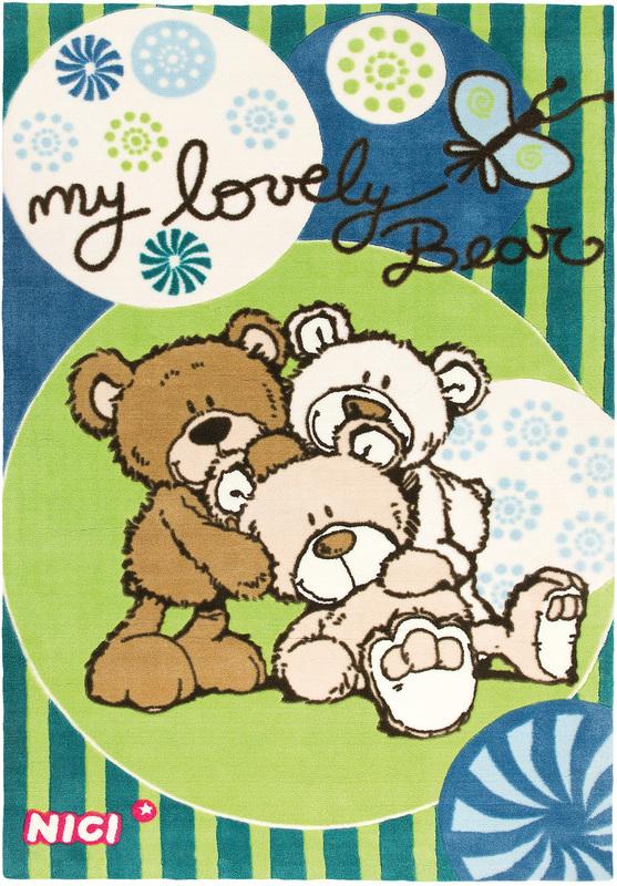 nici , Teppich, Lovely Bear 1 Moderner Teppich bei tepgo