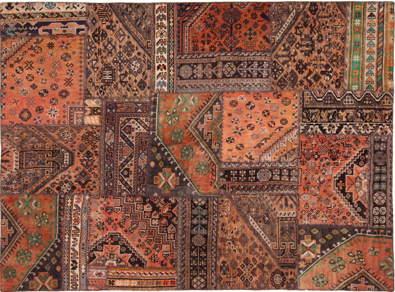 Perserteppich patchwork  Orient Patch Patchwork 2 Teppich bei tepgo kaufen. Versandkostenfrei!