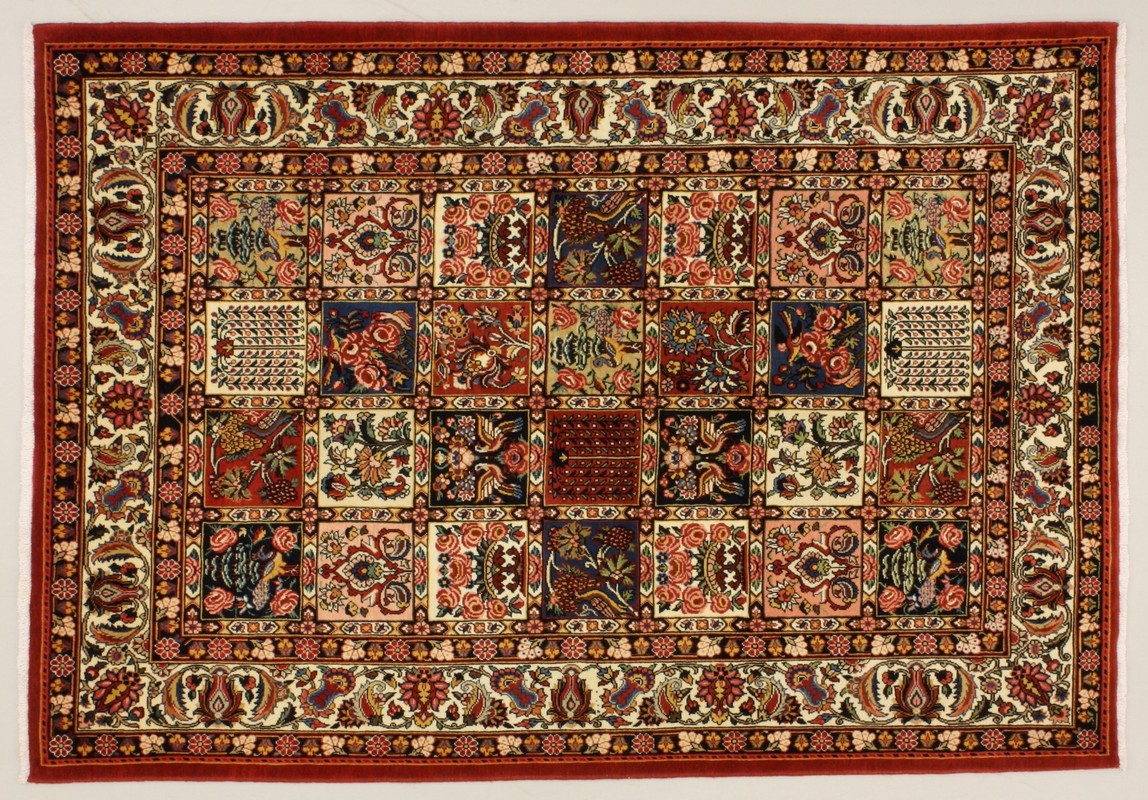 Perser teppich muster  Oriental Collection Bakhtiar-Felder multicolour 76066, Perser ...