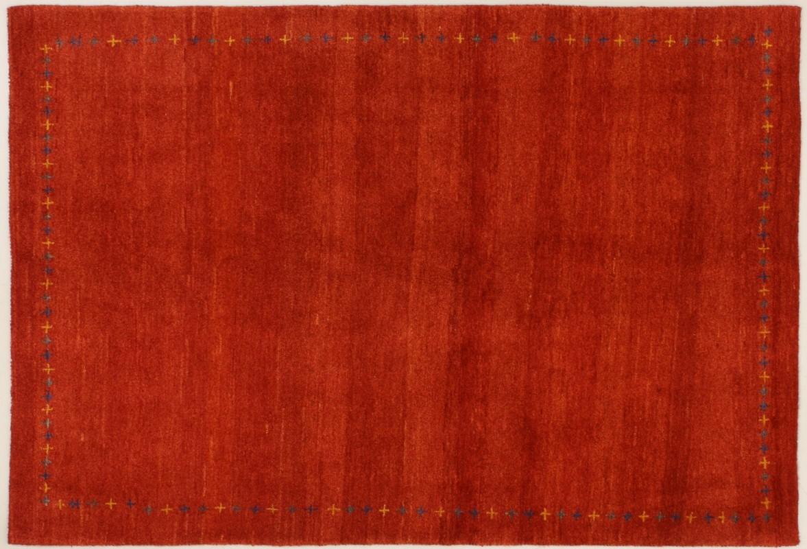 oriental collection gabbeh teppich rot 76040 bei tepgo kaufen versandkostenfrei. Black Bedroom Furniture Sets. Home Design Ideas