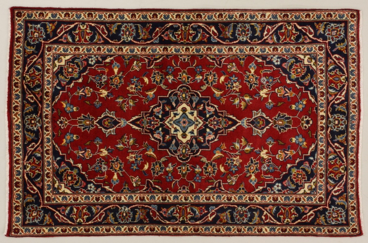 Oriental Collection Kashan Rot 76017 Teppich