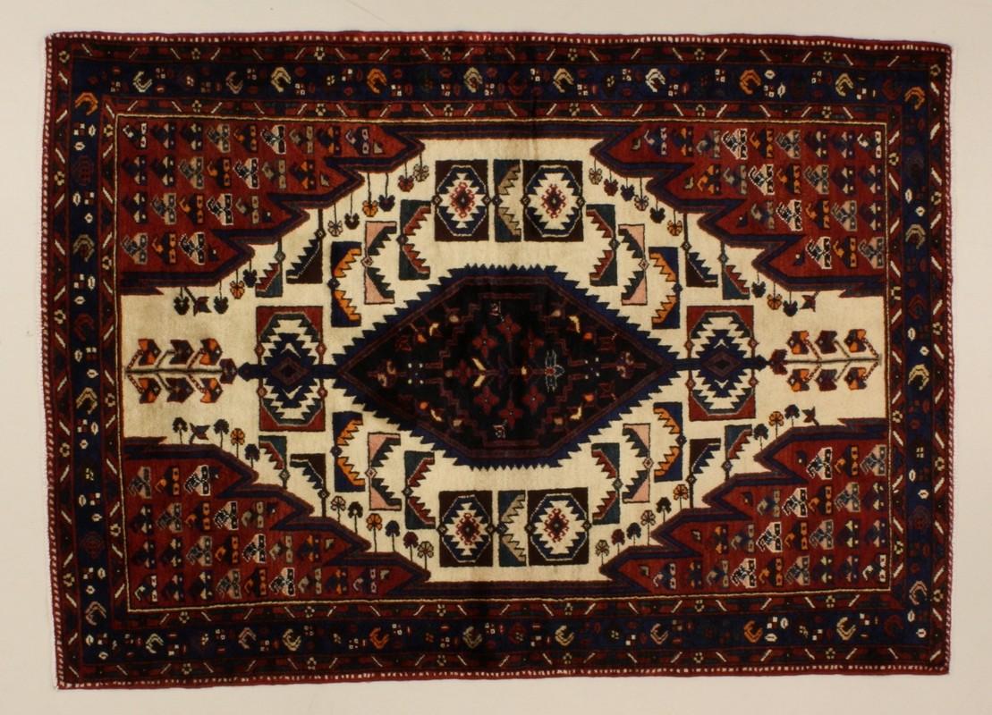 Oriental Collection Khamseh beige 76065, Perserteppich
