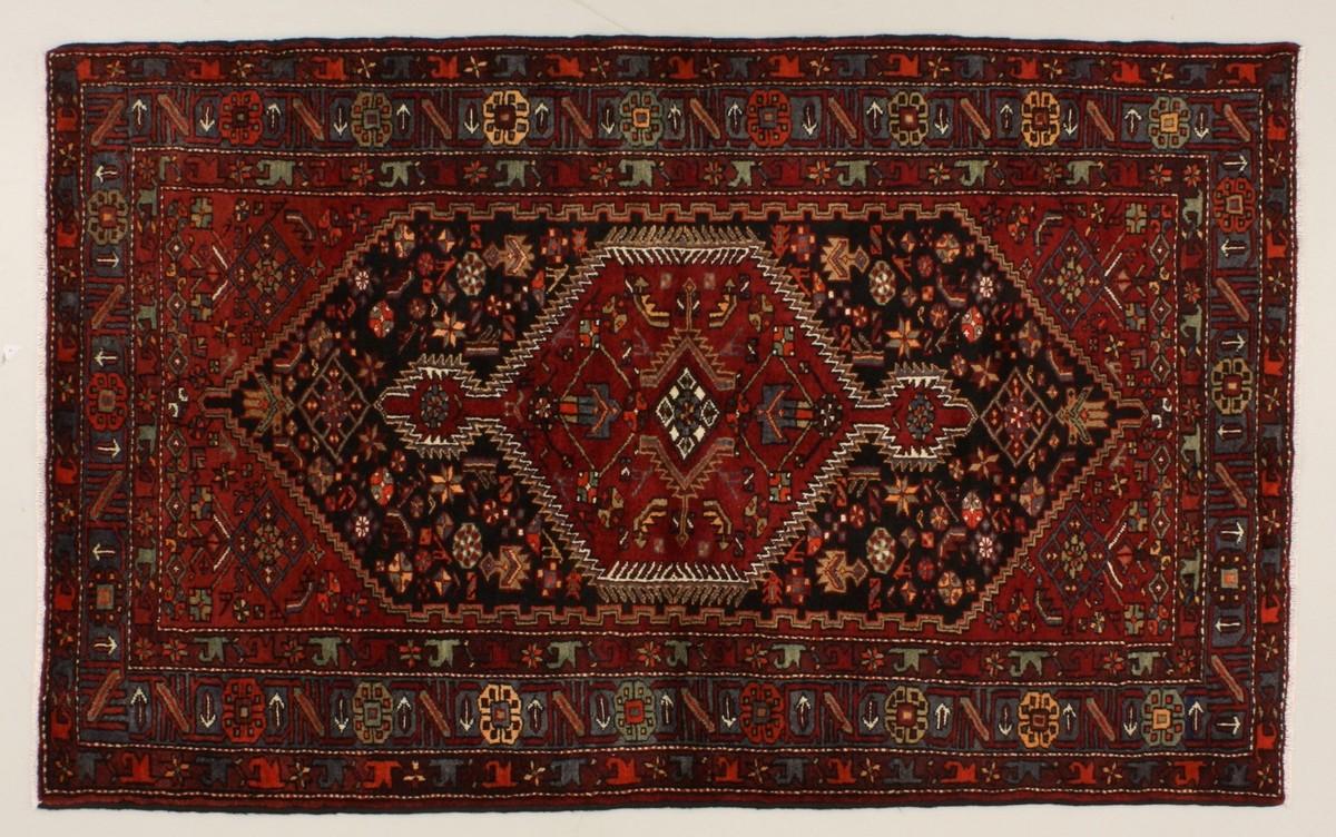 Oriental Collection Khamseh blau 76056, Perserteppich