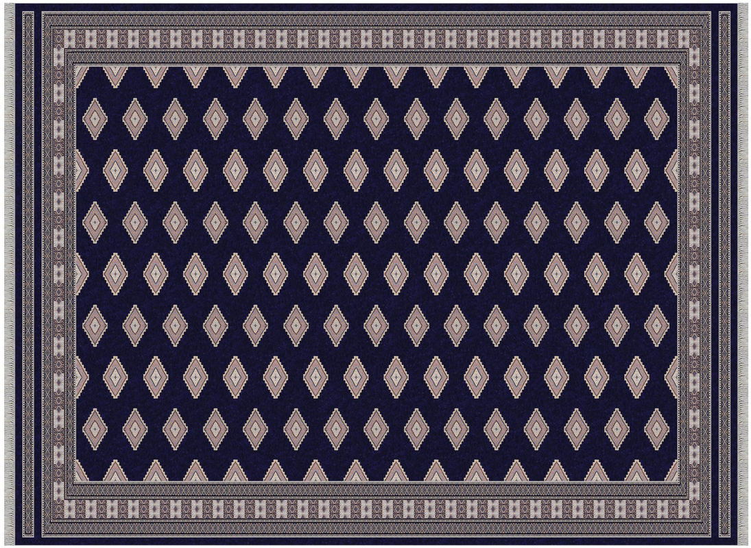 Orientteppich blau  Oriental Collection Pentag Pakistan dunkel-blau Teppich bei tepgo ...