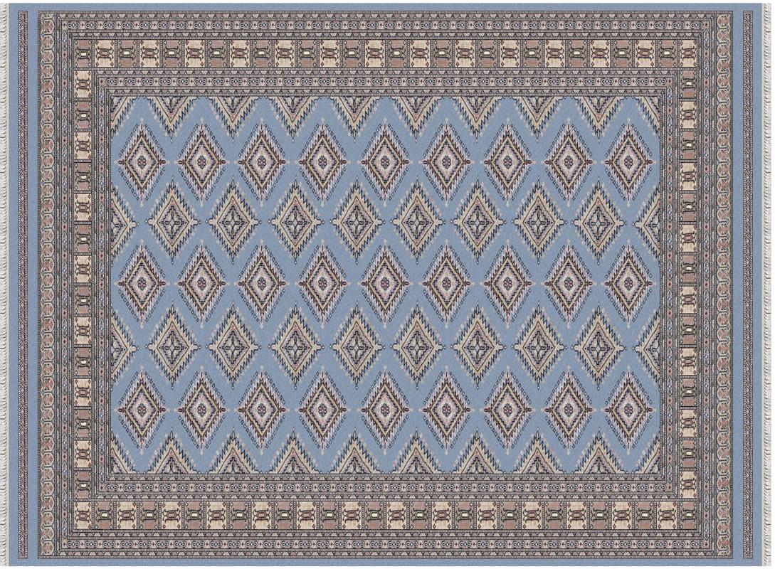 oriental collection sare pakistan blau orientteppich teppich bei tepgo kaufen versandkostenfrei. Black Bedroom Furniture Sets. Home Design Ideas