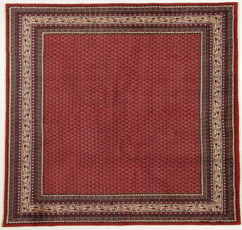 oriental collection teppich sarough mir perser handgekn pft reine schurwolle 216 x 225 cm. Black Bedroom Furniture Sets. Home Design Ideas