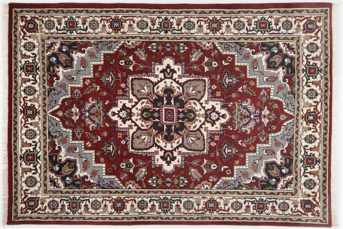 Perser teppich muster  Oriental Collection Perser Teppich, Imperial Heriz, Heriz, rot ...