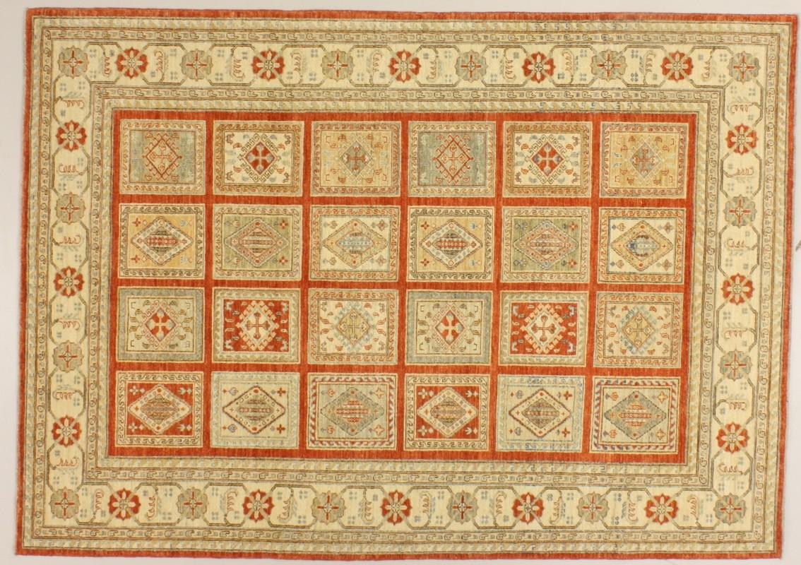 Oriental Collection Ziegler Teppich Premium Rot   P - Oriental Collection Ziegler Premium Rot