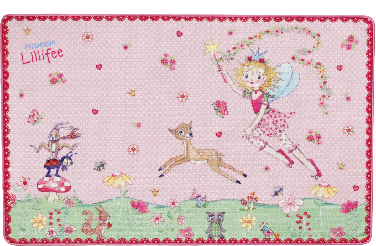 Prinzessin Lillifee KinderTeppich LI101 100 x 160 cm