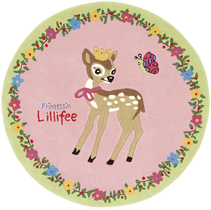 Prinzessin Lillifee Rehkitz KinderTeppich, ÖkoTex
