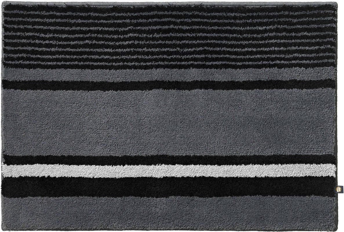 rhomtuft badteppich maritim zink schwarz edelstahl badteppiche bei tepgo kaufen versandkostenfrei. Black Bedroom Furniture Sets. Home Design Ideas