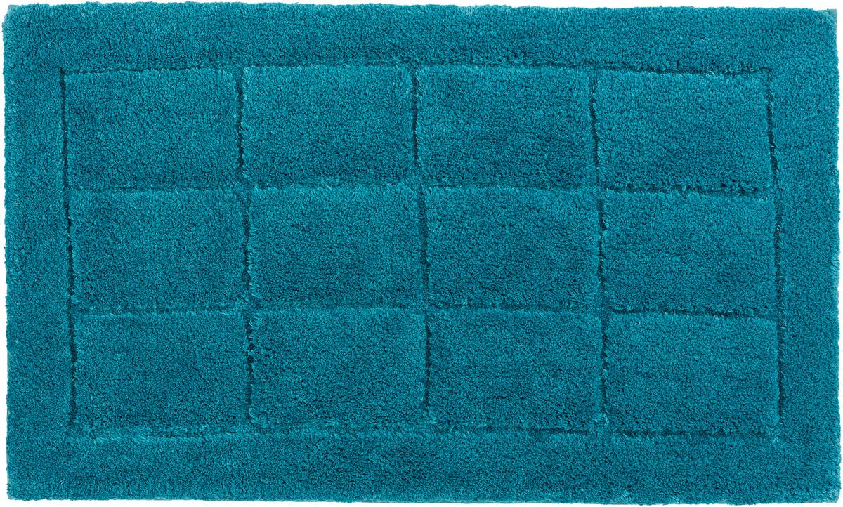 sch ner wohnen badteppich santorin d 003 c 024 kacheln t rkis badteppiche bei tepgo kaufen. Black Bedroom Furniture Sets. Home Design Ideas