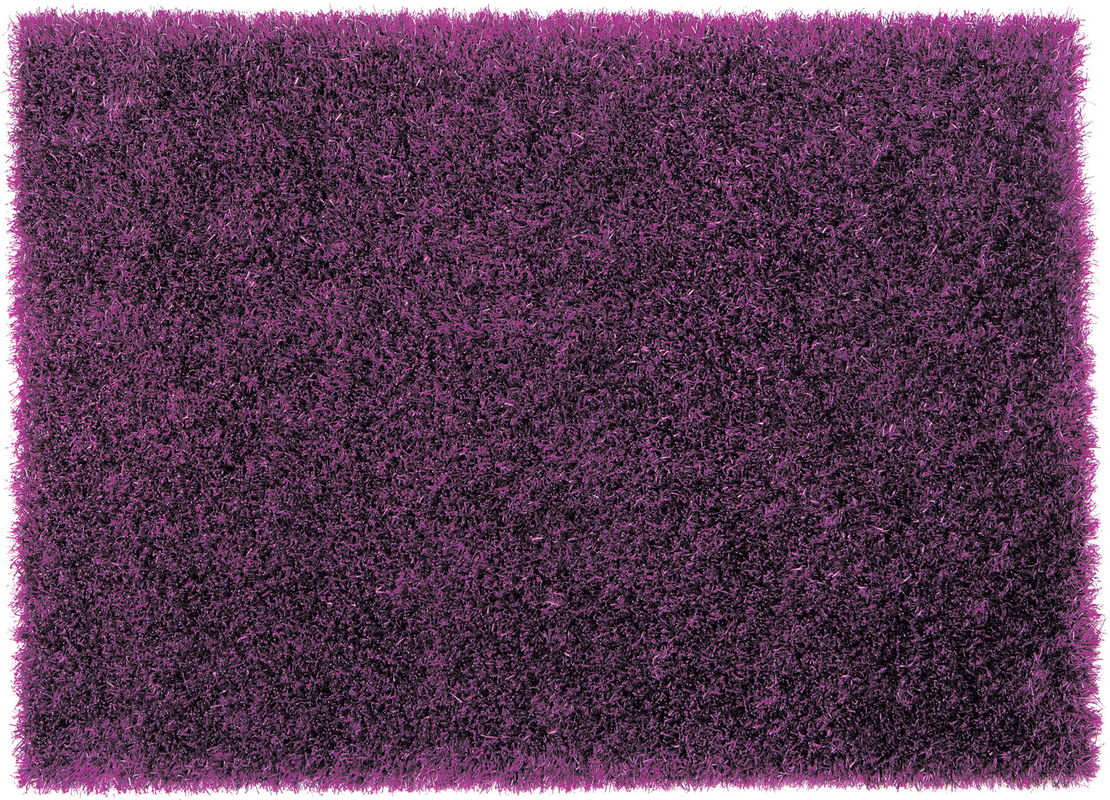 sch ner wohnen hochflor teppich feeling violett 55 mm. Black Bedroom Furniture Sets. Home Design Ideas