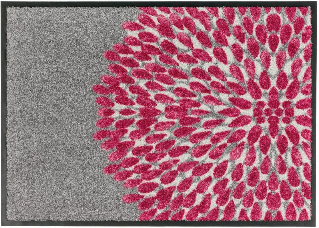 sch ner wohnen fussmatte broadway blume pink fu matten bei tepgo kaufen versandkostenfrei. Black Bedroom Furniture Sets. Home Design Ideas