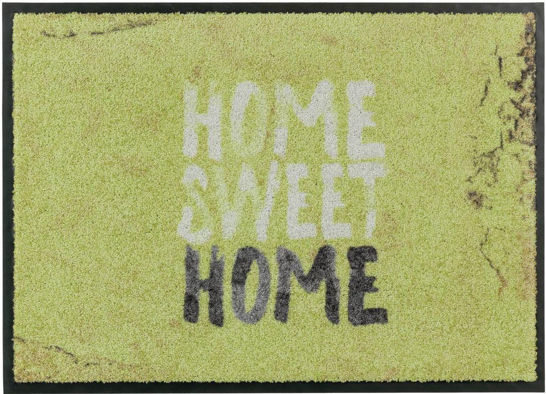 sch ner wohnen fussmatte broadway home sweet home gr n fu matten bei tepgo kaufen. Black Bedroom Furniture Sets. Home Design Ideas