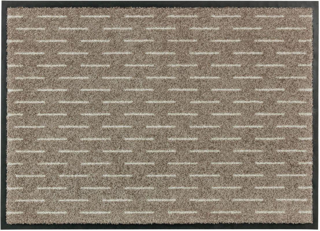 sch ner wohnen fussmatte broadway striche beige fu matten. Black Bedroom Furniture Sets. Home Design Ideas