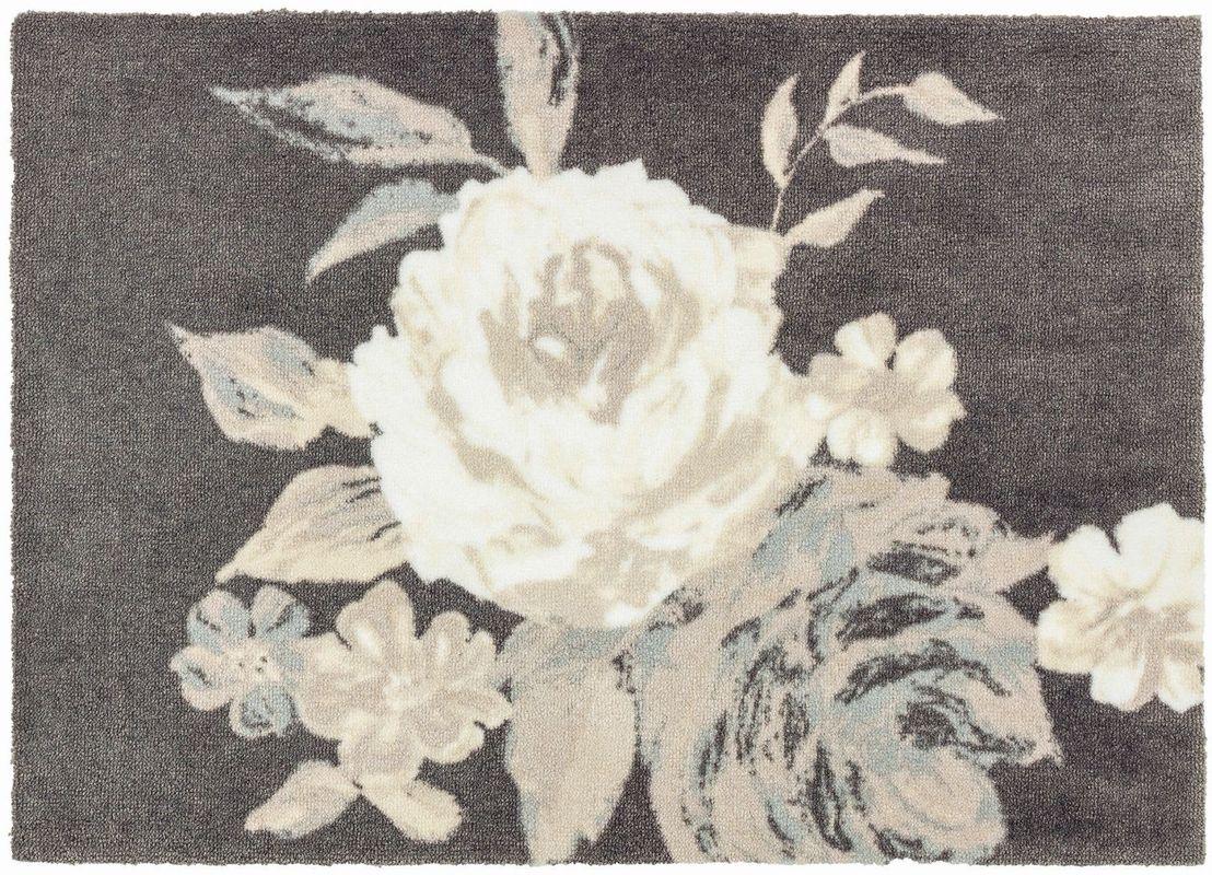 sch ner wohnen fussmatte brooklyn rose fu matten bei tepgo. Black Bedroom Furniture Sets. Home Design Ideas