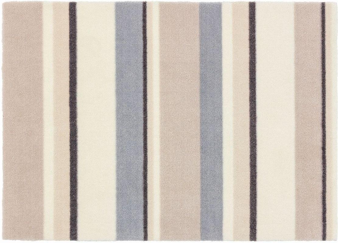 sch ner wohnen fussmatte brooklyn streifen beige fu matten. Black Bedroom Furniture Sets. Home Design Ideas