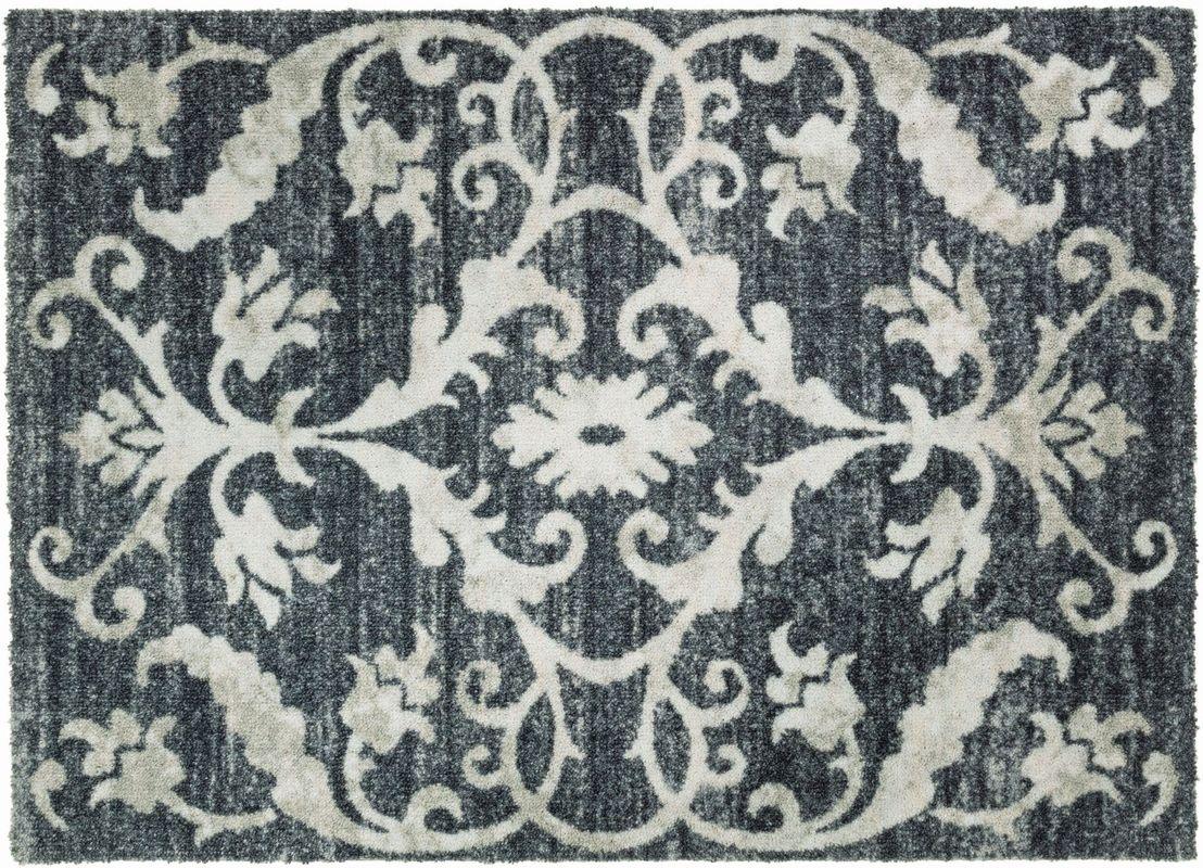 sch ner wohnen fussmatte brooklyn vintage grau fu matten. Black Bedroom Furniture Sets. Home Design Ideas