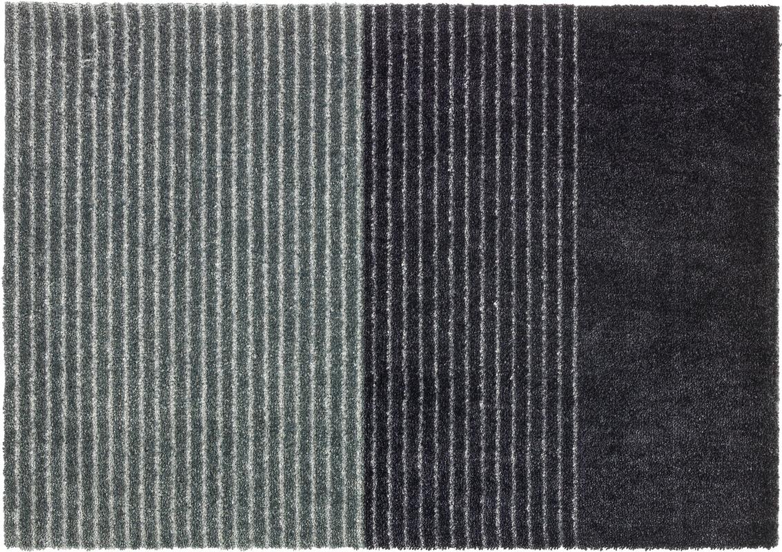 sch ner wohnen fu matte manhattan design 003 farbe 044 streifen anthrazit grau fu matten bei. Black Bedroom Furniture Sets. Home Design Ideas