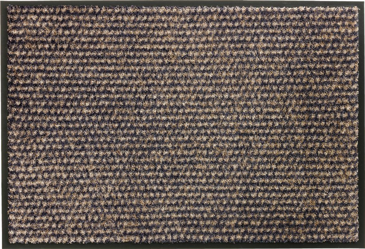 sch ner wohnen fu matte miami design 002 farbe 044 punkte anthrazit taupe fu matten bei tepgo. Black Bedroom Furniture Sets. Home Design Ideas