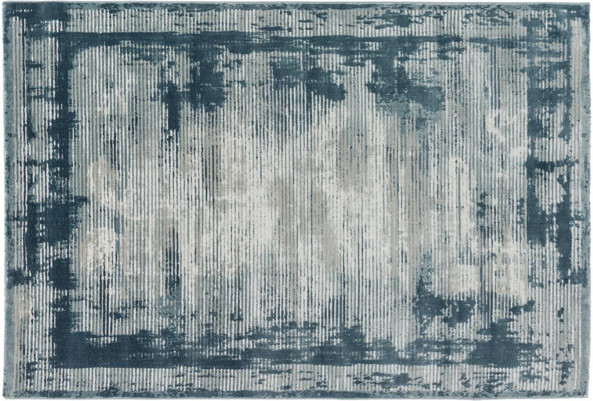 sch ner wohnen teppich brilliance design 181 farbe 020 streifen blau bei tepgo kaufen. Black Bedroom Furniture Sets. Home Design Ideas