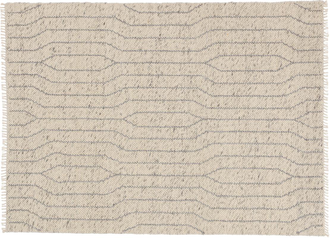 schöner wohnen teppich sense design 181, farbe 004 silber bei tepgo