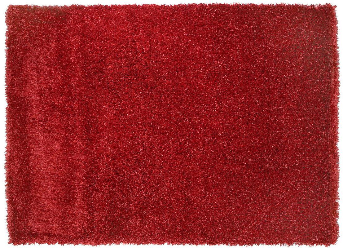 sch ner wohnen teppich touch rot teppich hochflor teppich bei tepgo kaufen versandkostenfrei. Black Bedroom Furniture Sets. Home Design Ideas