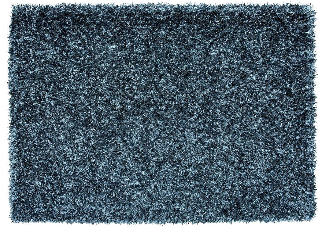Schöner Wohnen Teppich, Twist, grau-blau Teppich Hochflor Teppich ...