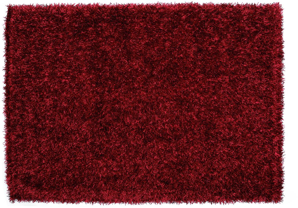 Schöner Wohnen Teppich, Twist, rot  Hochflor Teppich