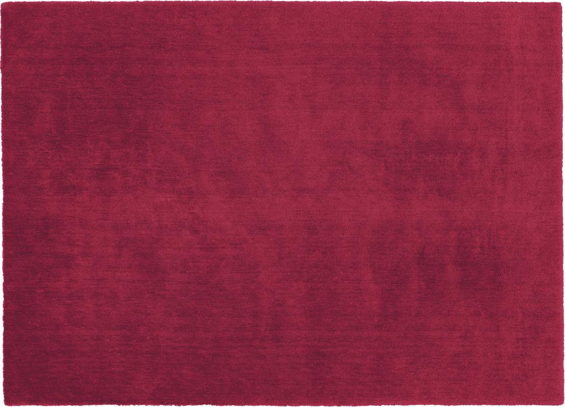 sch ner wohnen teppich victoria 010 rot 14 mm florh he moderner teppich bei tepgo kaufen. Black Bedroom Furniture Sets. Home Design Ideas