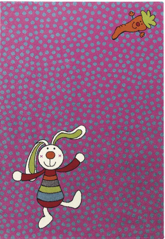Sigikid Teppich, Rainbow Rabbit, SK052303 pink bei tepgo