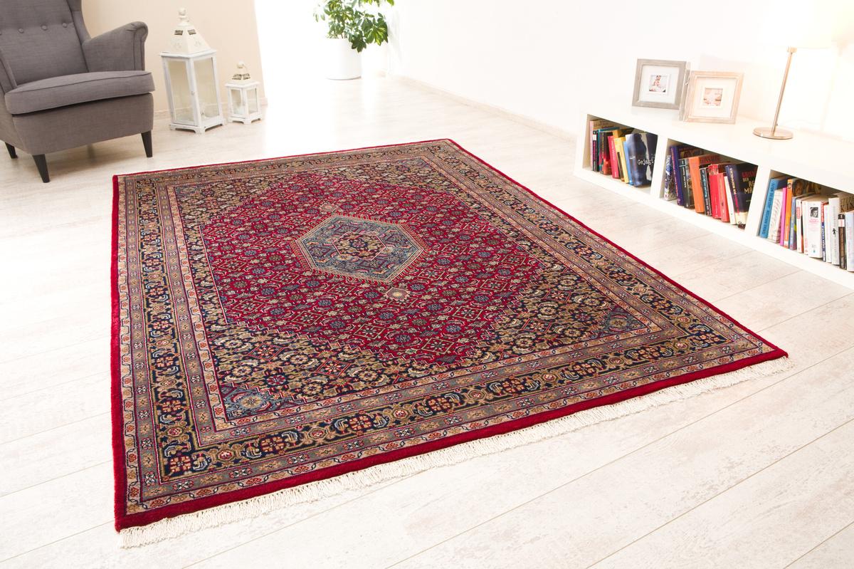 oriental collection bidjar teppich zeynal premium collection rot teppich orientteppiche bei. Black Bedroom Furniture Sets. Home Design Ideas