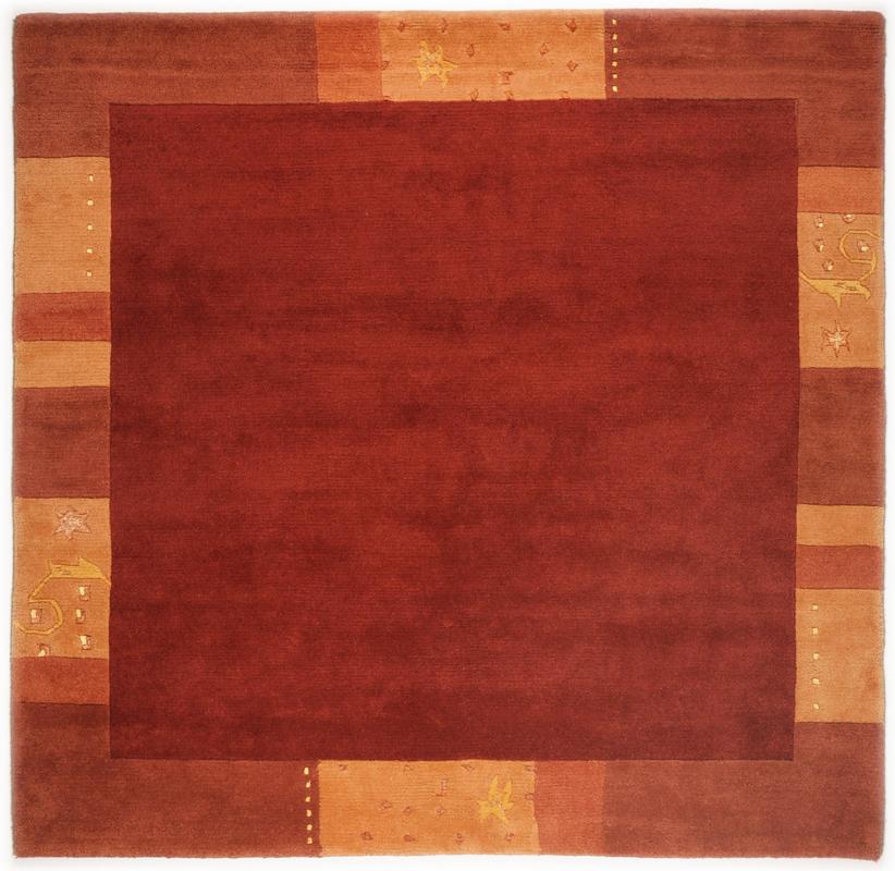 THEKO Teppich Ganges, 991, rot Teppich Nepalteppich bei