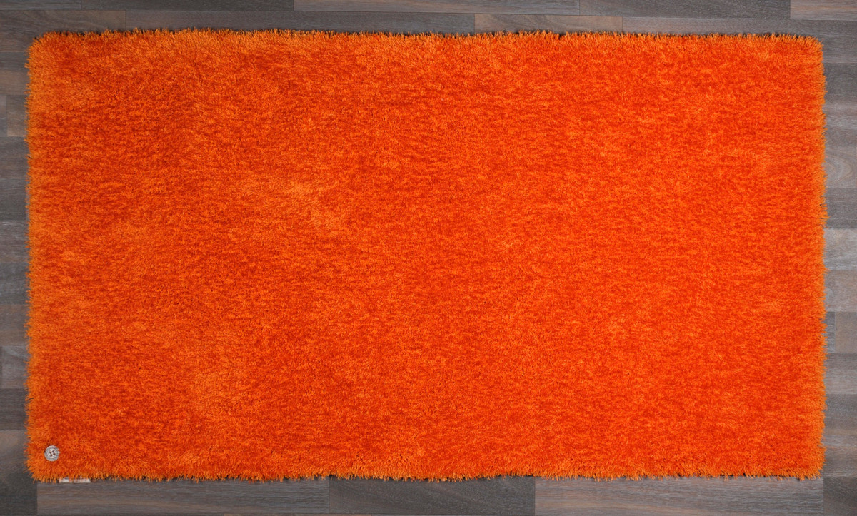 tom tailor teppich soft uni orange terrakotta orange hochflor hochflor teppich bei tepgo. Black Bedroom Furniture Sets. Home Design Ideas