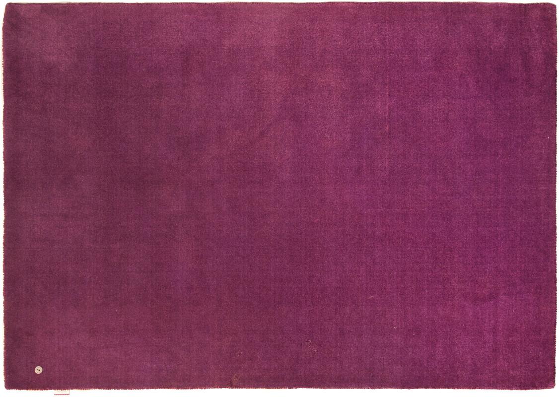 tom tailor teppich happy solid uni purple bei tepgo kaufen versandkostenfrei. Black Bedroom Furniture Sets. Home Design Ideas