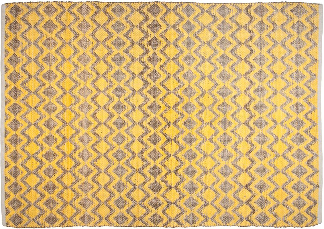 Tom Tailor Teppich Smooth Comfort Geometric Gelb Bei Tepgo Kaufen