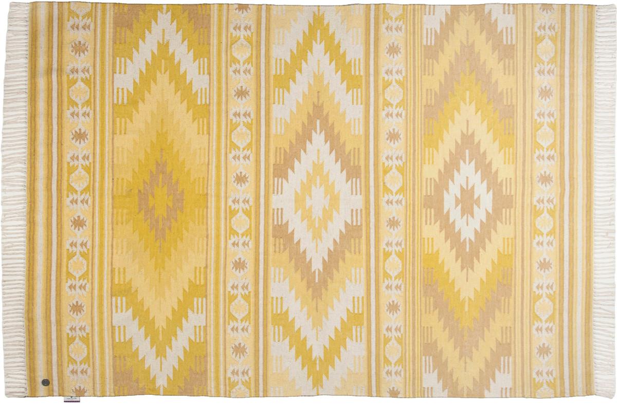 Tom Tailor Teppich Vintage, Kelim Colors I, Gelb