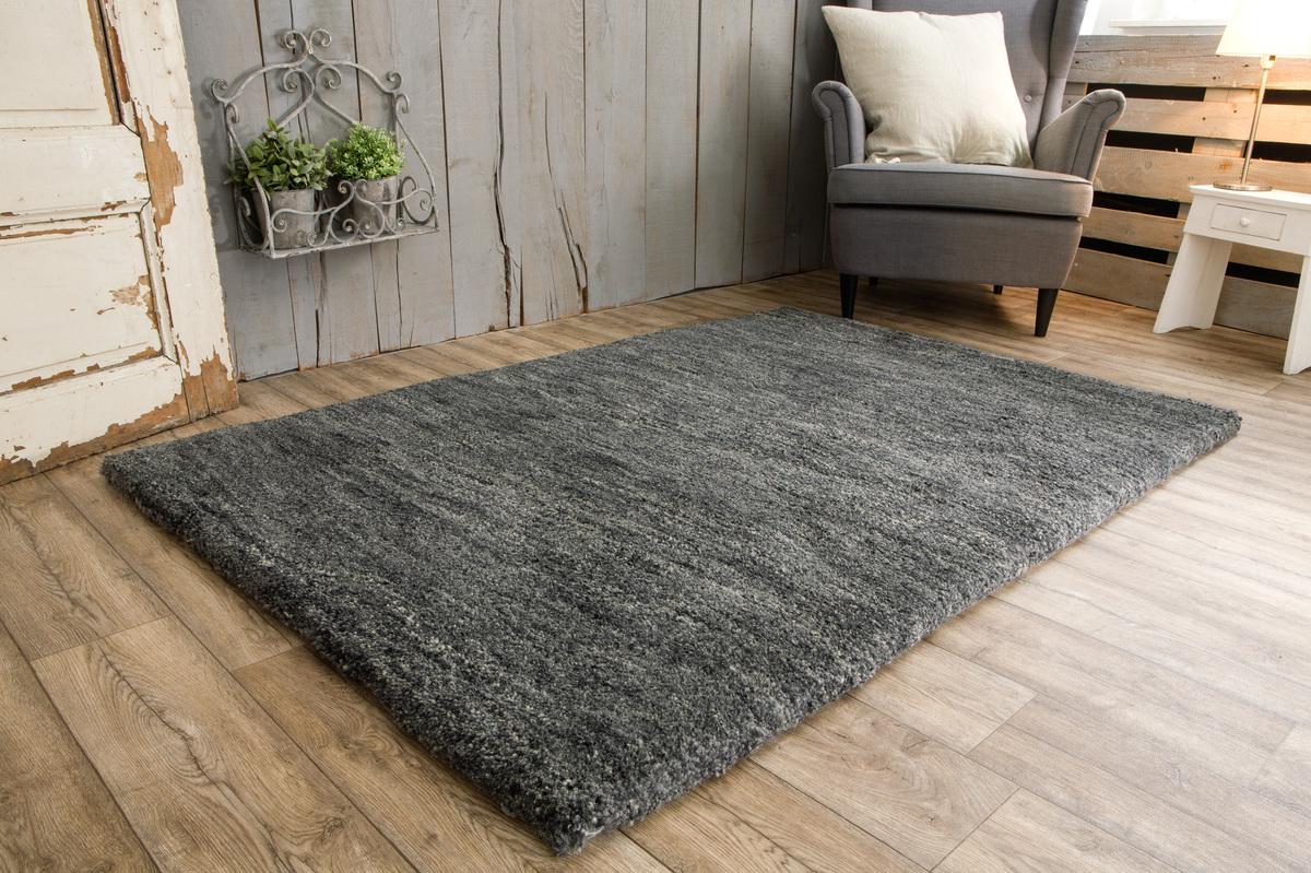 bilder tuaroc berber teppich maroc de luxe 20 20 double anthrazit. Black Bedroom Furniture Sets. Home Design Ideas